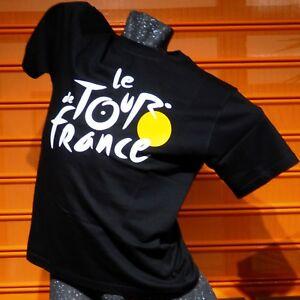 LE-TOUR-DE-FRANCE-034-LOGO-034-T-Shirt-black-Size-S