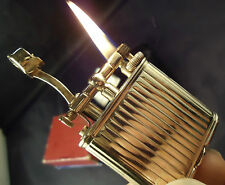 Dunhill Unique Petrol Lighter  - 9k Gold - 1951 Hallmarks - Feuerzeug - Briquet