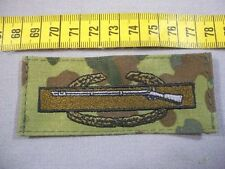 USA Combat Infantry Badge, 1st Award bunt auf Bundeswehr Flecktarn CIB