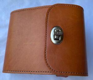 Faraday bike leather bag - brown