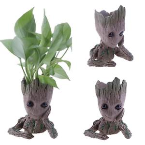 Flowerpot Baby Groot Pen Pot Holder Creative Decorative Home