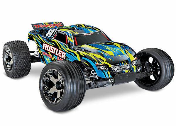 Traxxas Rustler VXL 2WD Brushless Stadium Truck - 37076-4 YLW