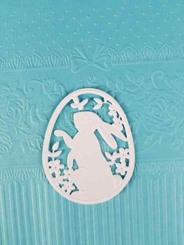 10 x Stanzteile Ostern Kartenschmuck Kartenaufleger Scrapbooking Basteln Papier