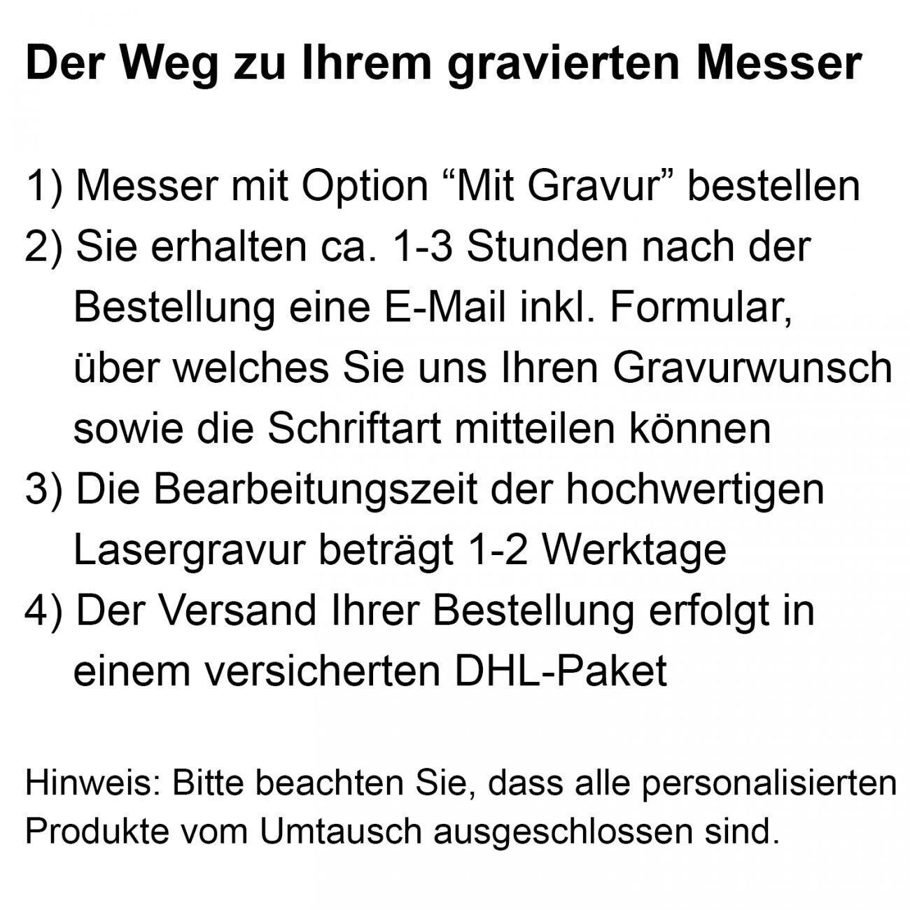 Mit Gravur - Yaxell RAN 69 Santokumesser 16,5 cm + + + PRYMO ® Klingenschutz df91d7