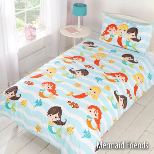 Kinder /& Erwachsene Charakter Bettwäsche Bettbezug Sets Jungen Mädchen