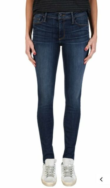 BLACK ORCHID Jude Mid Rise Super Skinny Denim Jeans Play Nice Blue 26 #313