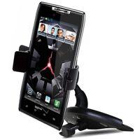 Verizon Moto Droid Z Pixel Lg V20 Galaxy J3 Car Cd Slot Dash Mount Holder Dock