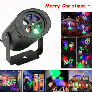 LED-Snowflake-Projector-Christmas-Moving-Laser-Projection-Outdoor-Indoor-Light