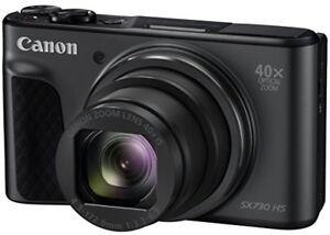 Canon compact digital camera PowerShot SX 730 HS black PSSX730HS (BK) from japan
