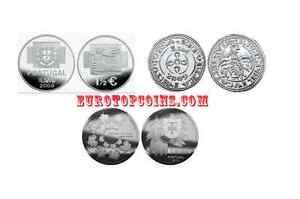 RM-1-50-EURO-COMMEMORATIVE-PORTUGAL-2008-2010-TOUS-LES-PIECE-DISPONIBLE