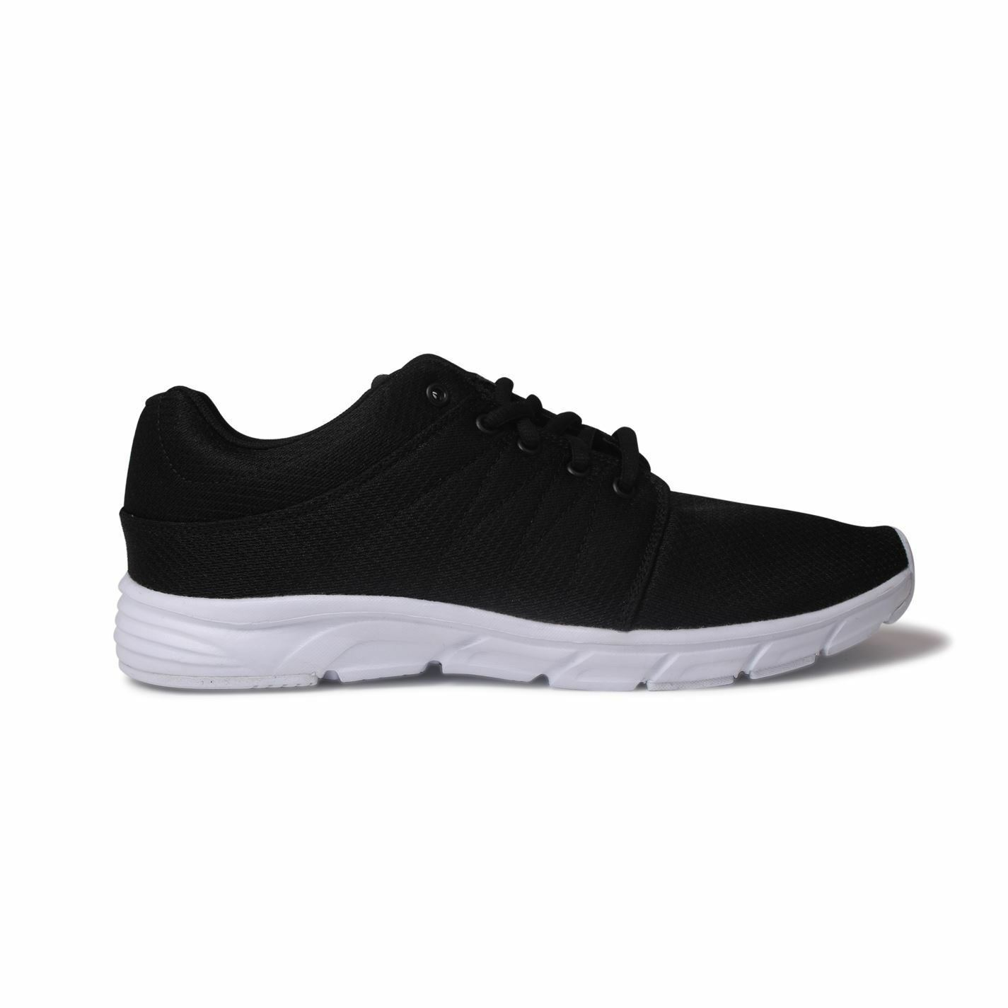 Fabric Reup Runner Trainers Mens Black/White Sports Shoes Sneakers