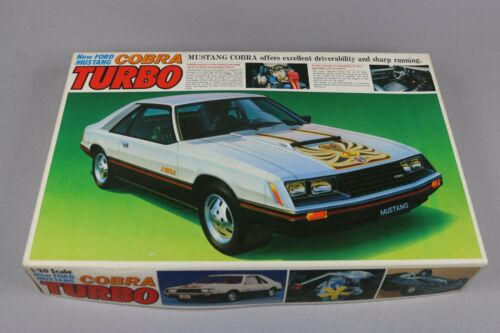 Zf1328 Bandai 1/20 Maquette Voiture 35253 Ford Mustang Cobra Turbo