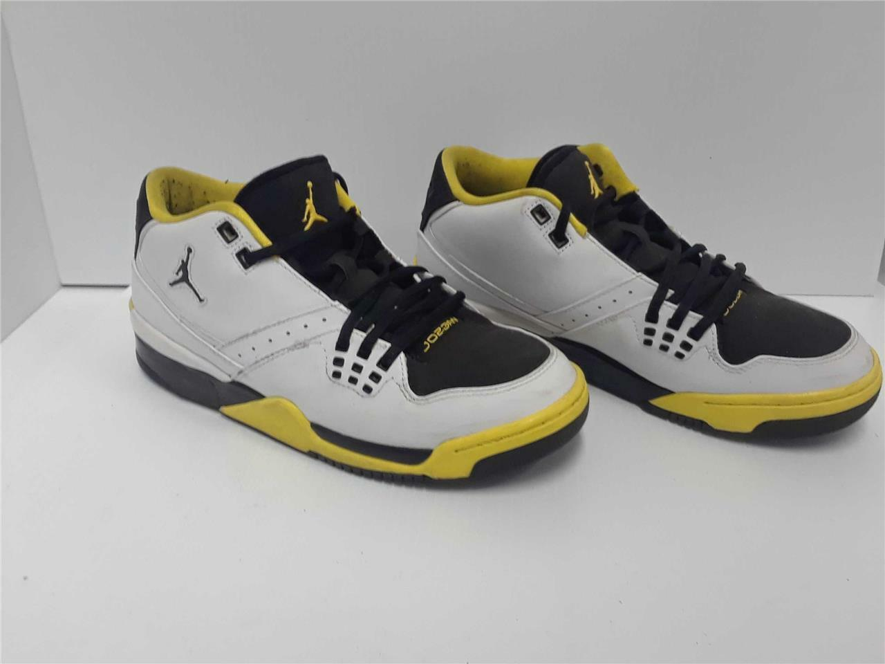 Nike Air Jordan Flight 23 Amarillo para hombres Blanco Negro Amarillo 23 317909102 ef2fed