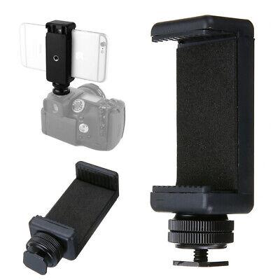 11669c1fe6 Hot Shoe Flash Screw Adapter Tripod Mount Phone Clip Holder for SLR DSLR  Camera