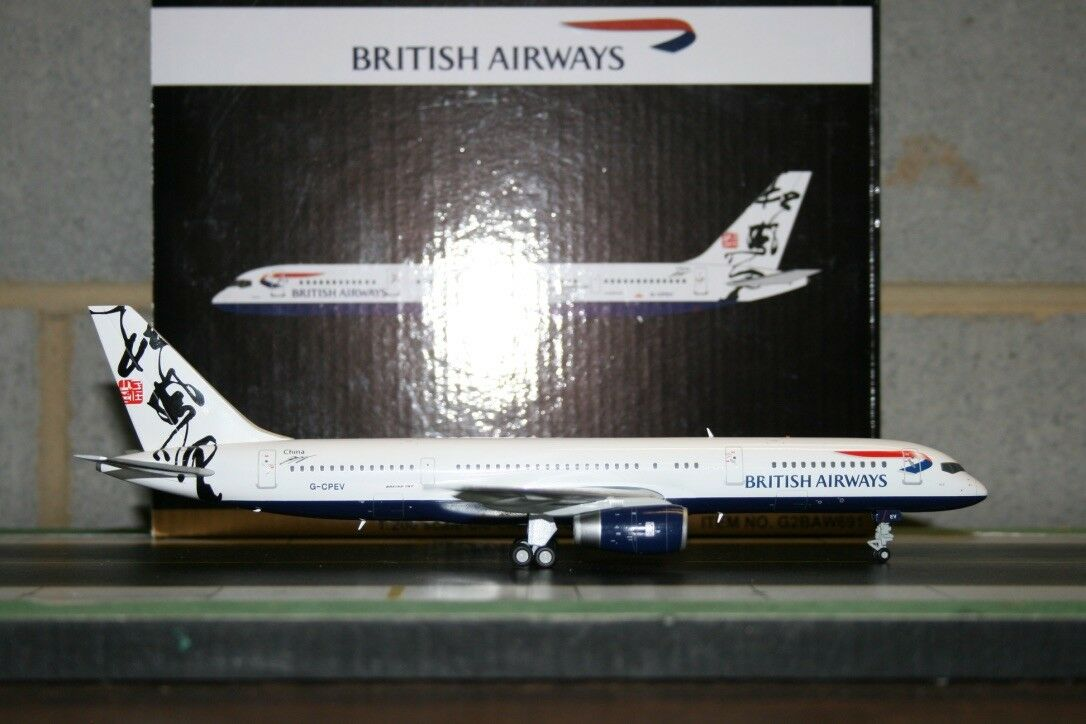 Gemini Jets  1 200 British Airways Boeing 757-200 G-CPEV  Hong Kong  (G2BAW691)  exclusif