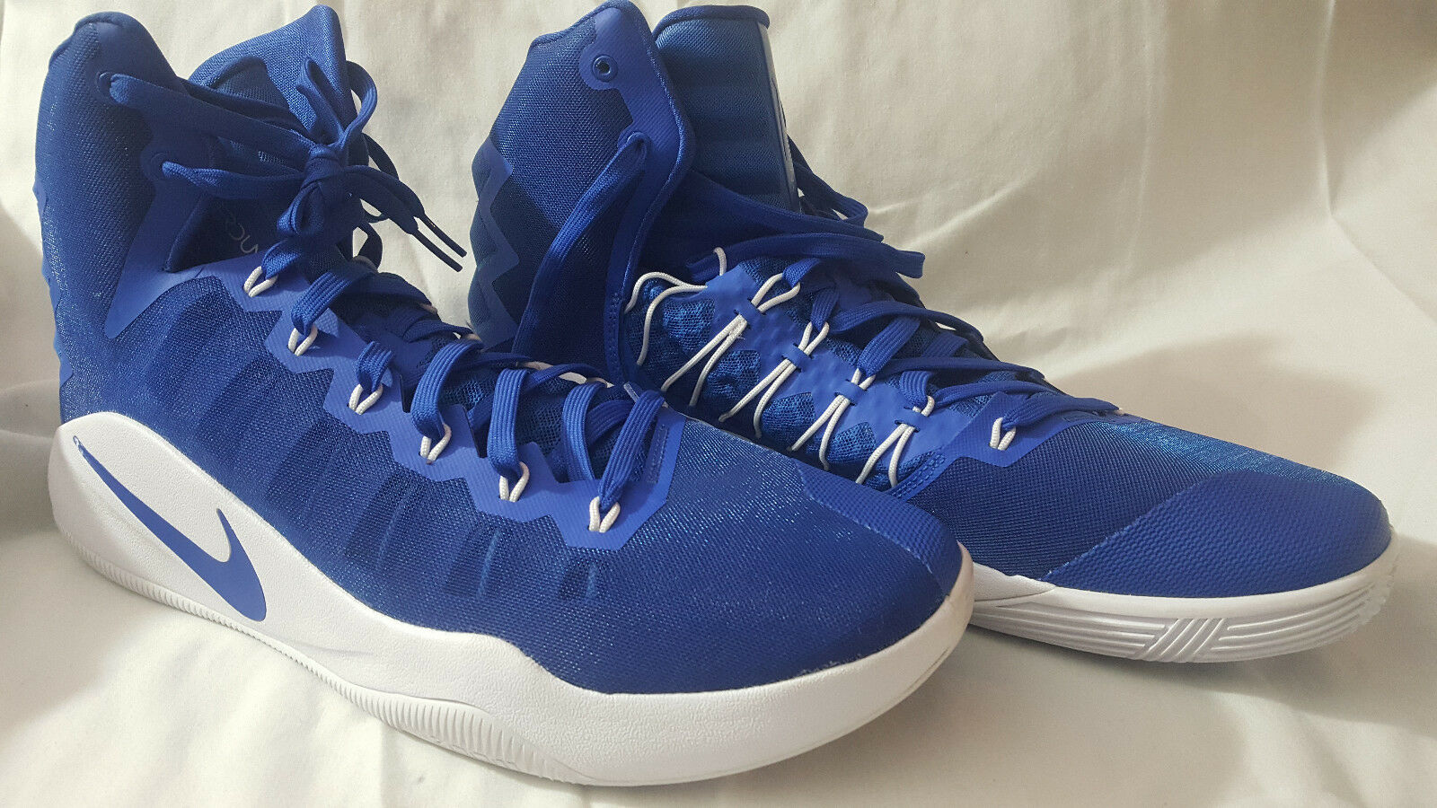 NEW Nike Hyperdunk High Top Basketball shoes Size 17 (Royal bluee) 856483-441