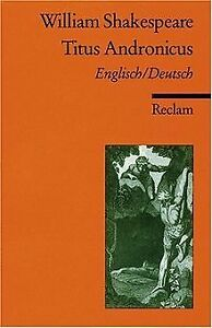 Titus-Andronicus-Zweisprachig-von-William-Shakespeare-Buch-Zustand-gut