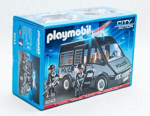PLAYMOBIL-6043-City-Polizei-Mannschaftswagen-mit-Licht-und-Sound-TV-Werbung