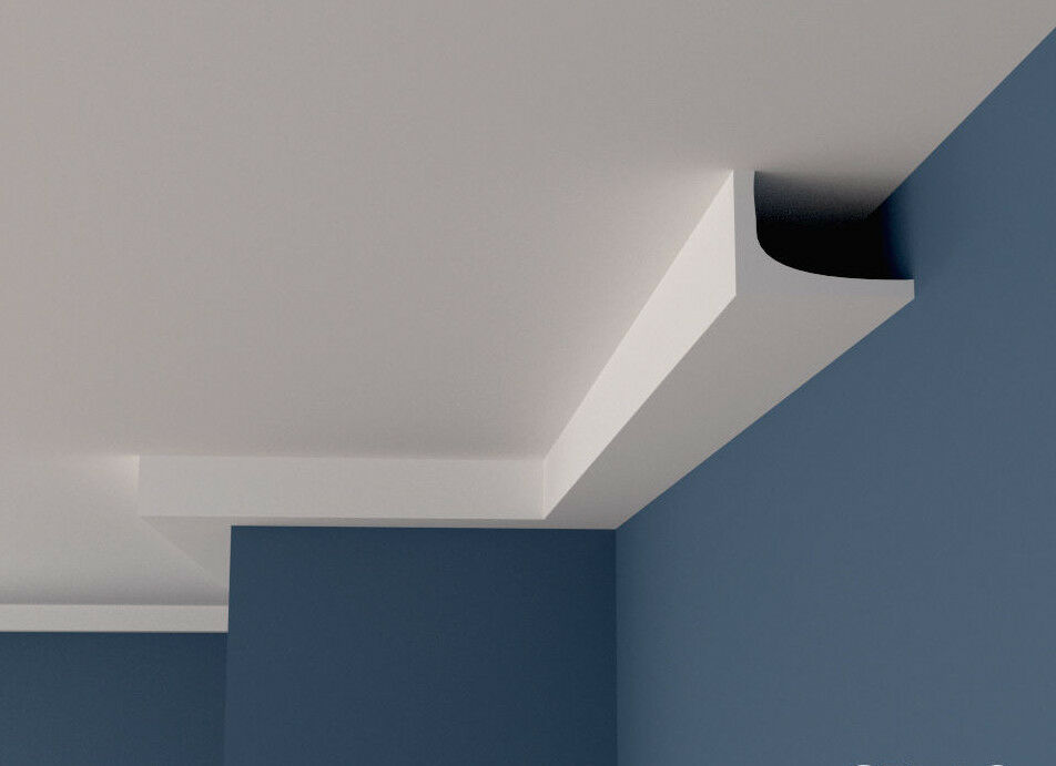 Coving Cornice XPS Polystyrene BSX10 Cheapest LARGE GrößeS MANY TYPES Quality 2M