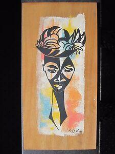 Details About Vintage African American Chicago Wpa Artist William Mcbride Jr Modern Painting
