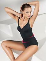 Wolford Estrella Forming Swim Body Swimming Suit Black S Small Cup B Uk Size 10