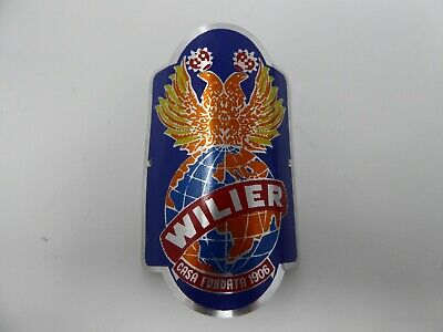 Details about  /REPRODUCTION Vintage style WILIER road mountain bicycle frame head badge