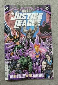 DARK NIGHTS DEATH METAL VF//NM DC HOHC JUSTICE LEAGUE #57 COVER A LIAM SHARP