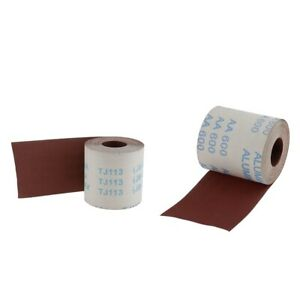 Non-Clog Open Mesh Sand Cloth 180 Grit 1.5 in Cleans Copper Pipes x 5 yd.
