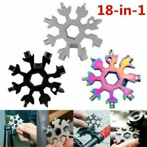 18-In-1-Stainless-Steel-Multi-Tool-Multifunction-Snowflake-Shape-Screwdriver-HOT