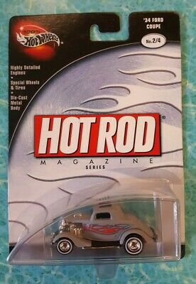 Hot Wheels Hot Rod Magazine 34 Ford Coupe