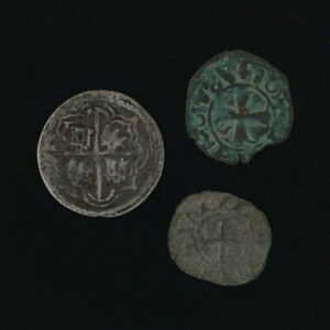 Ancient-Roman-Coin-Lot-Rare-Ravenna-Denaro-Archepisco