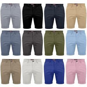 Westace Hombre Corte Slim Algodon Elastico Chino Casual Verano Pantalones Cortos Ebay