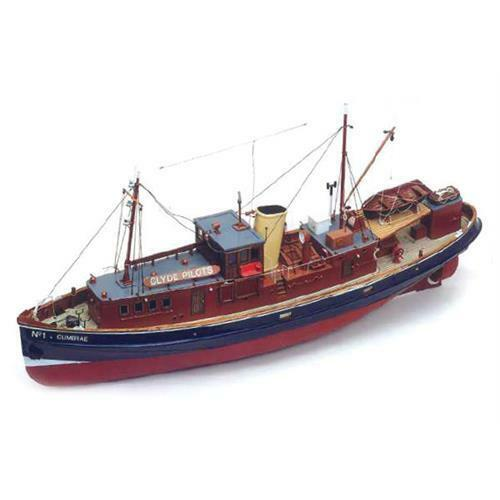 Caldercraft Cumbrae - Clyde Pilot Cutter Suitable For RC FREE DELIVERY