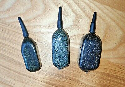 3oz 4.5oz MIX 10 x Carp Fishing  Inline Flat  Pear  Leads   1.5oz 2oz