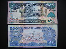 SOMALILAND  500 Shillings 2011  (P6h)  UNC
