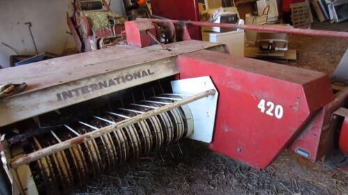 Ih 420 430 440 empacadora canario /& manual del operador