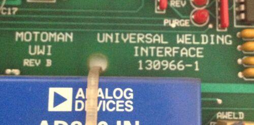 MOTOMAN UWI UNIVERSAL WELDING INTERFACE 130966-1 *PZB*