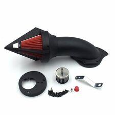 Black Spike Air Cleaner Intake Filter Kit For Honda Vtx1300 Vtx 1300 1986-2012