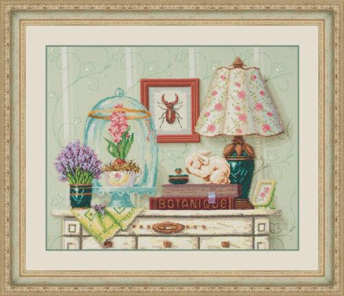 """Cross Stitch Kit Bead Embroidery Kit GOLDEN HANDS Z-003 /""""Provence/"""""""