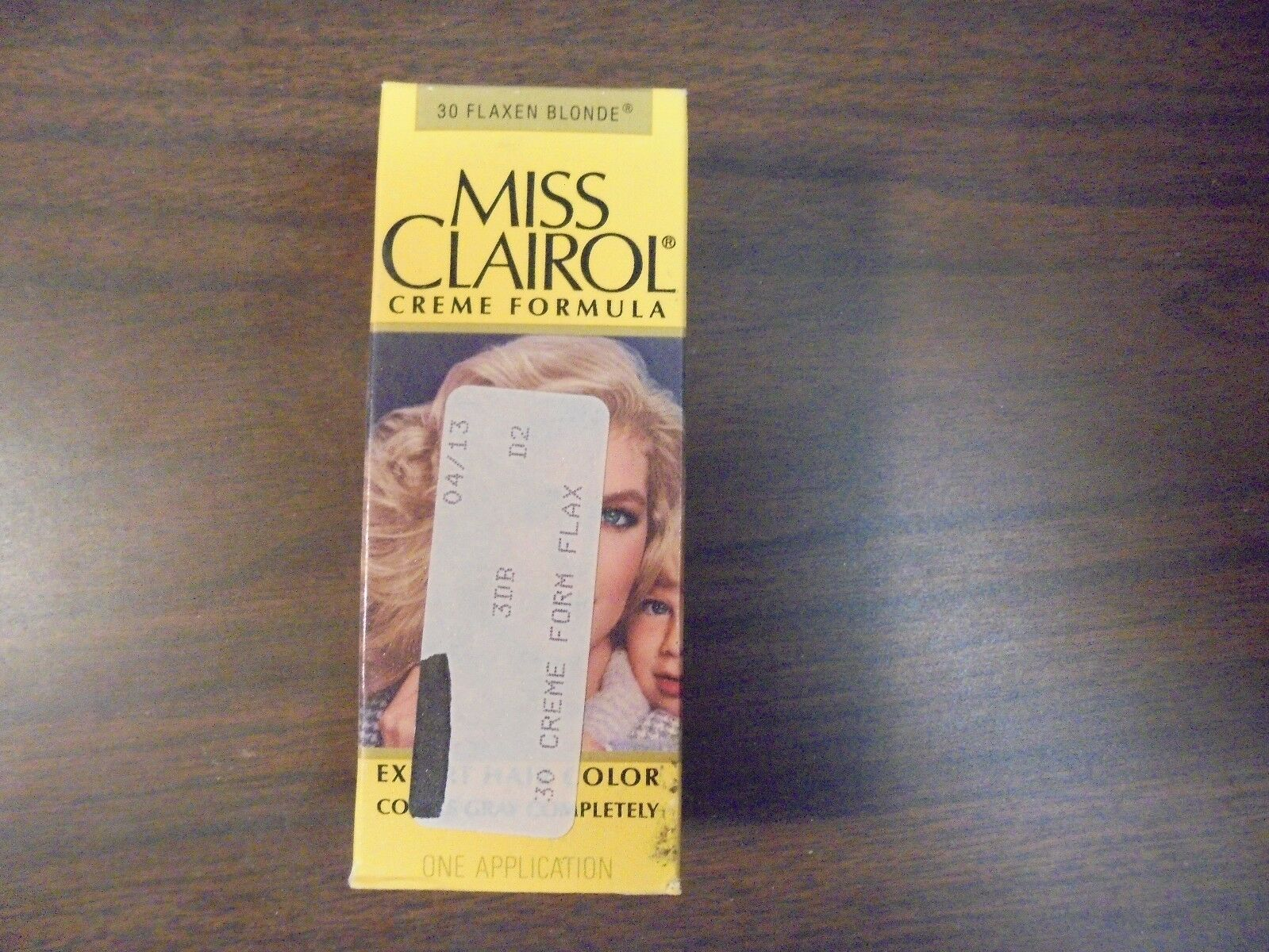 Vintage Miss Clairol Hair Color Bath With Collagen Enriched 30