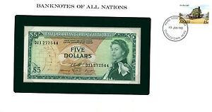 East Caribbean States 5 Dollars 1965 Aunc P 14 H