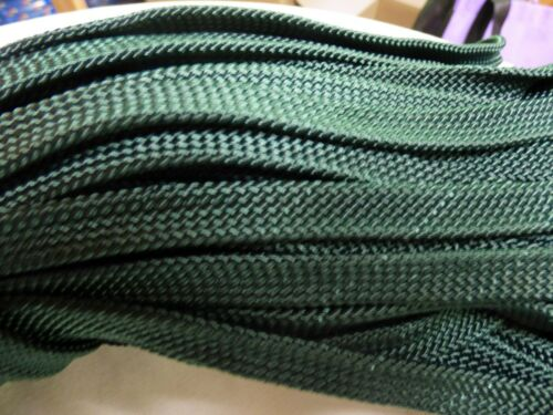 "Hollow //Flat Braid Nylon Rope Hank 7//16/""x 200 ft Discounted Made in USA"