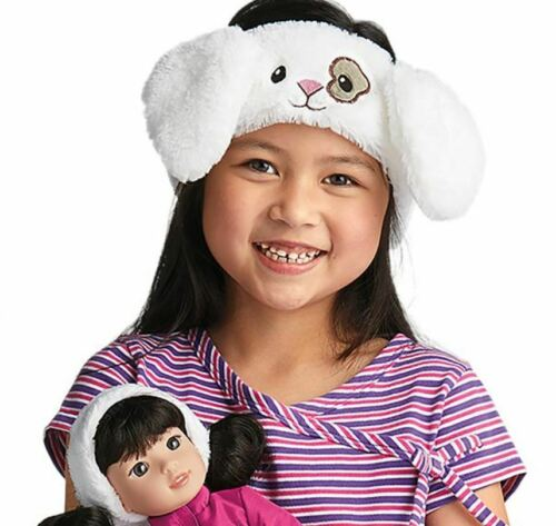American Girl Wellie wishers Cozy Carrots Headband for Girls NEW