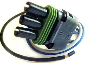 Buick Throttle Position Sensor Wire Harness Connector Plug Socket Fuel Tps Nos Ebay