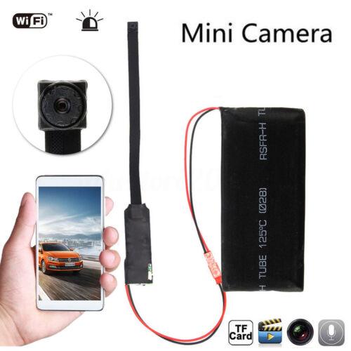 Wireless Network WIFI IP Mini DIY DVR Spy Hidden Pinhole Camera DVR Recorder Cam