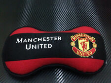 MANCHESTER UNITED : CAR ACCESSORY NECK PILLOW HEAD CUSHION SOFT PLUSH