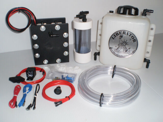 Dc 7000 Hho Hydrogen Generator Dry Cell Kit Complete W Pwm Quad Narrowband Efie For Sale Online Ebay
