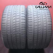 2x Tires Pirelli P Zero Rosso 2853519 28535zr19 2853519 99y 59574