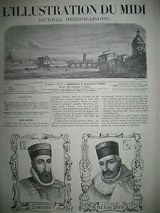 TOULOUSE-MAGISTRATS-DURANTI-DAFIS-LUCHON-LA-PIQUE-E-L-039-ILLUSTRATION-DU-MIDI-1863