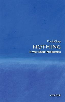 1 of 1 - Nothing: A Very Short Introduction (Very Short Introductions), Good Condition Bo